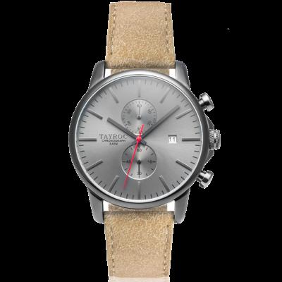 principal Reloj Tayroc Iconic TMX093 Hombre Gris Cronógrafo