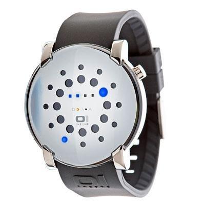principal Reloj The One Gamma Ray GRR116B3 Hombre Blanco Caucho