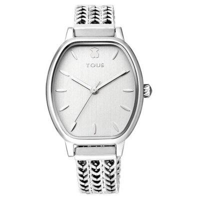 principal Reloj TOUS brazalete esterilla 100350405 plateado
