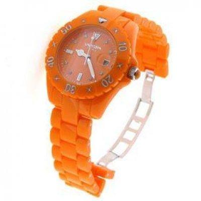 principal Reloj Vanessia Time VT0137 Unisex Naranja Cuarzo  Analógico