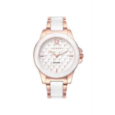 Reloj guess mujer blanco ceramica