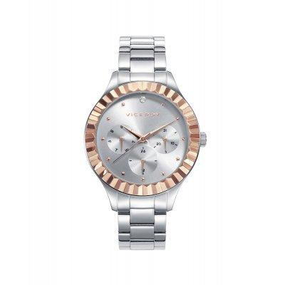 principal Reloj Viceroy 42378-87 mujer bicolor IP rosa