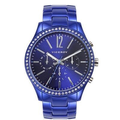 099b0485f859 Reloj Viceroy 46856-35 Mujer Azul Aluminio Cuarzo - Joyería Francisco Ortuño
