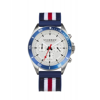 principal Reloj Viceroy Beat 471277-06 hombre plata