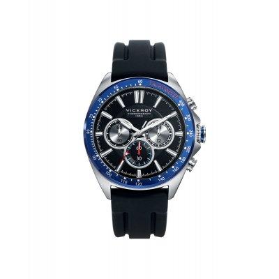 principal Reloj Viceroy HEAT 46649-59 hombre IP negro y azul