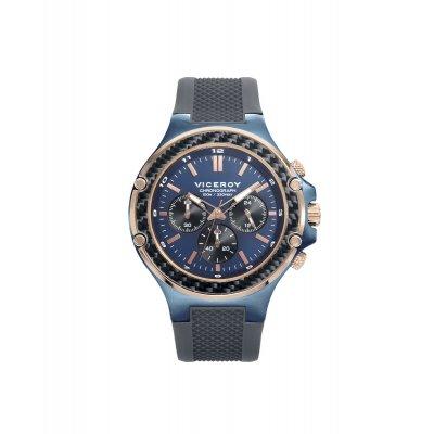 principal Reloj Viceroy MAGNUM 471203-37 hombre rosa y azul