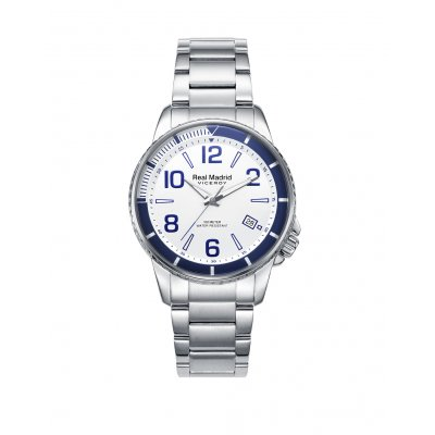 principal Reloj Viceroy Real Madrid 42296-07 Niño Blanco Calendario