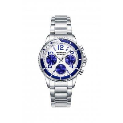 principal Reloj Viceroy Real Madrid 42300-07 Niño Blanco Multifunción