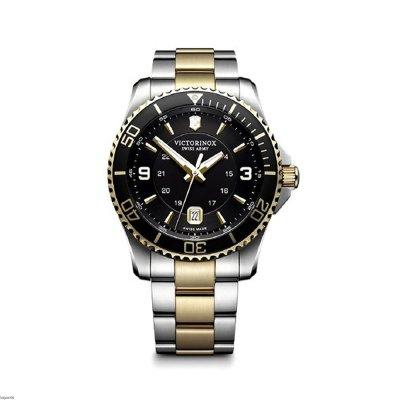 principal Reloj Victorinox V241824 maverick gs black/gold