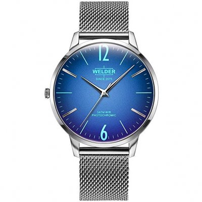 principal Reloj Welder Slim WRS410 Caballero Acero