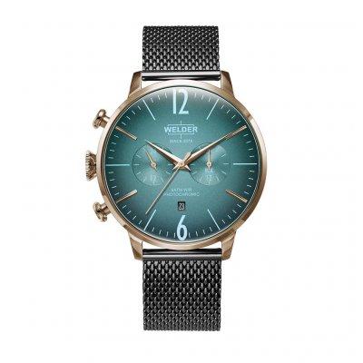principal Reloj Welder WWRC1008 Hombre Multicolor Acero Cronógrafo