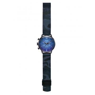 principal Reloj Welder WWRC1015 Smoothy Hombre Azul Acero