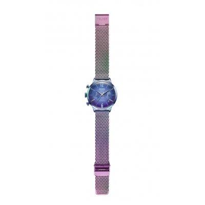 principal Reloj Welder WWRC646 Smoothy Mujer Azul Acero