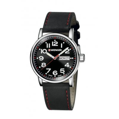 principal Reloj WENGER 01.0341.103 Hombre Plata