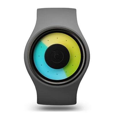 principal Reloj Ziiiro Aurora Z0004WGYT Unisex Bicolor Silicona