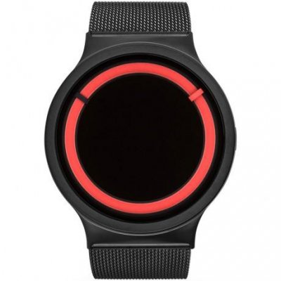 principal Reloj Ziiiro Eclipse Metallic Z0012WBR Hombre Negro Malla