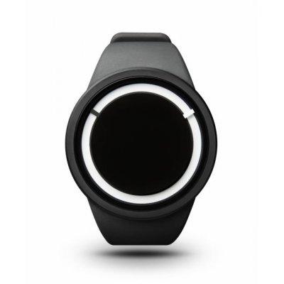 principal Reloj Ziiiro Eclipse Z0010WBK Hombre Negro Silicona