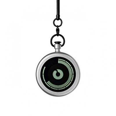 principal Reloj Ziiiro Titan Z0009PWS Unisex Bolsillo Gris