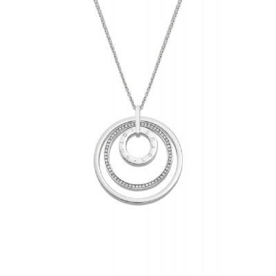 principal Collar Lotus Style LS2090-1/1 mujer acero círculo