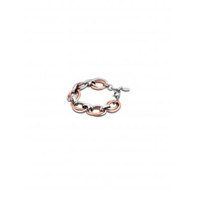 principal Pulsera Lotus Style LS1616/2/3 acero aros rosa