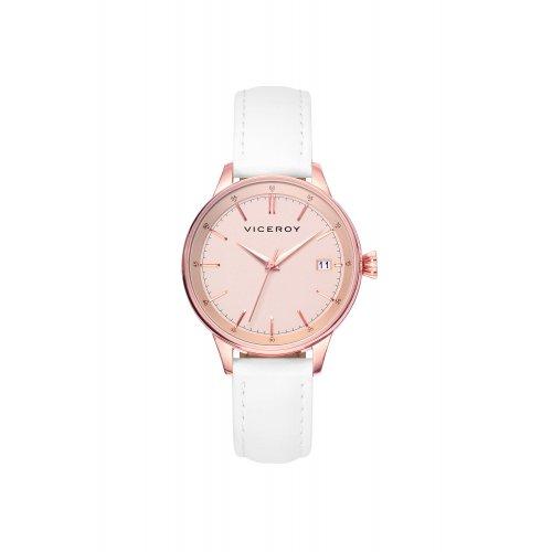 c29d37b5df95 RELOJ VICEROY 40902-97 Mujer Piel Acero IP Rosa Calendario - EUR 89 ...